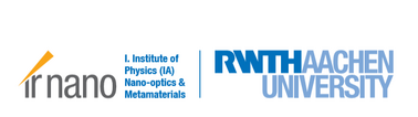 Logo of Researchgroup Nanooptics and Metamaterials